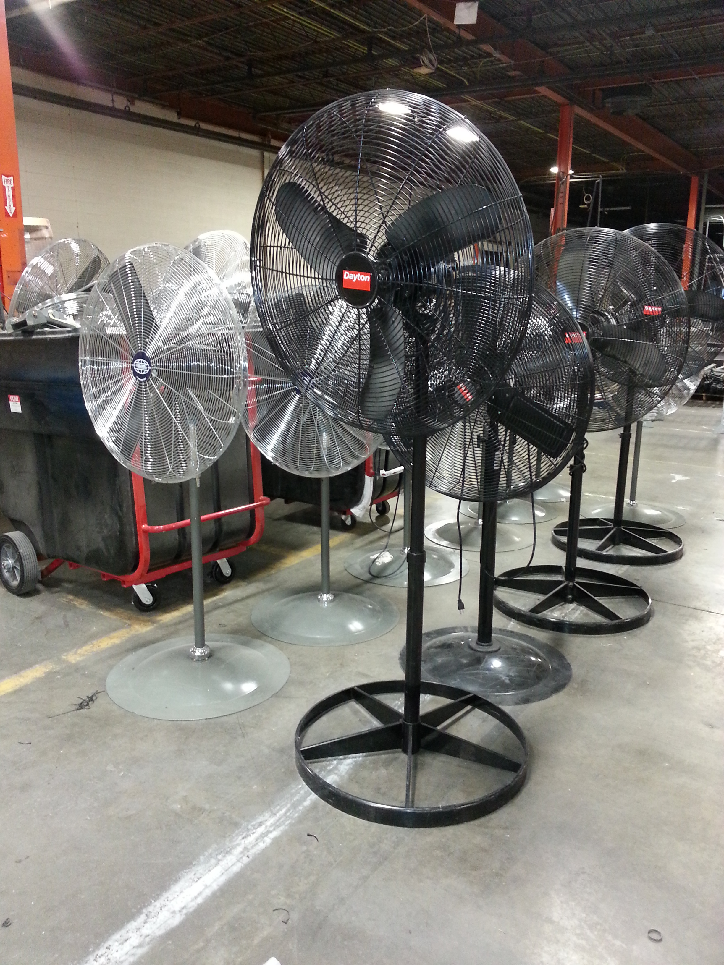 New Amp Used Industrial Warehouse Fans