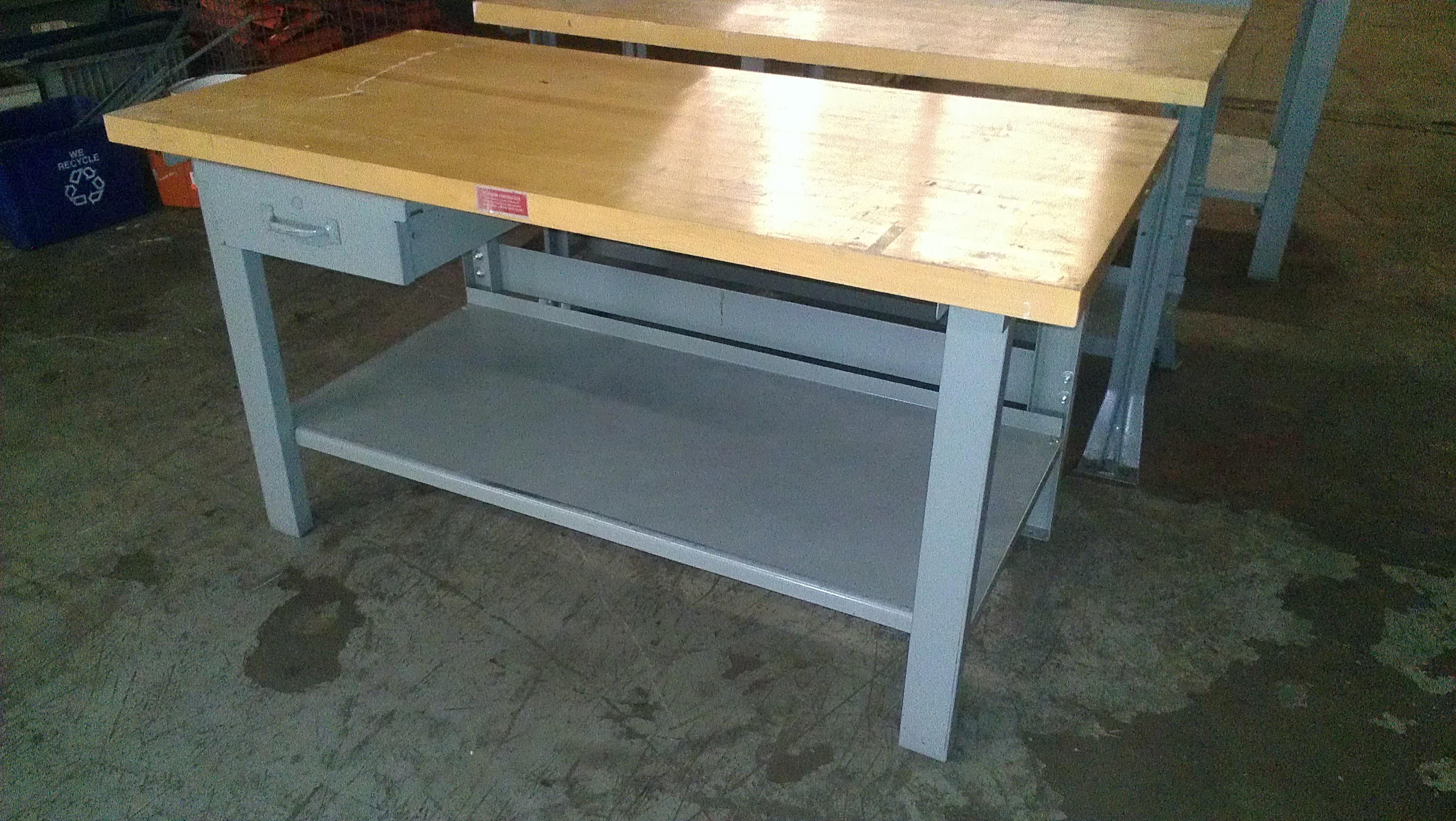 New & Used Workbenches Stanley Vidmar Equipto