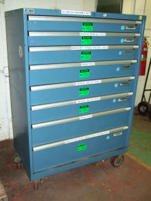New Amp Used Modular Drawer Cabinets Stanley Vidmar Stor