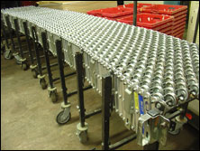 "Expandable 24""  Flex Conveyor"