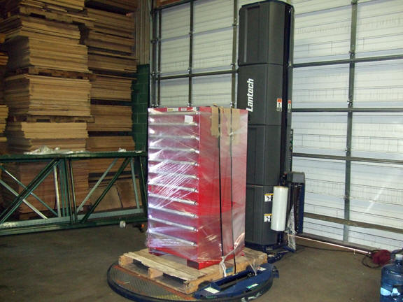 pallet wrap machine used