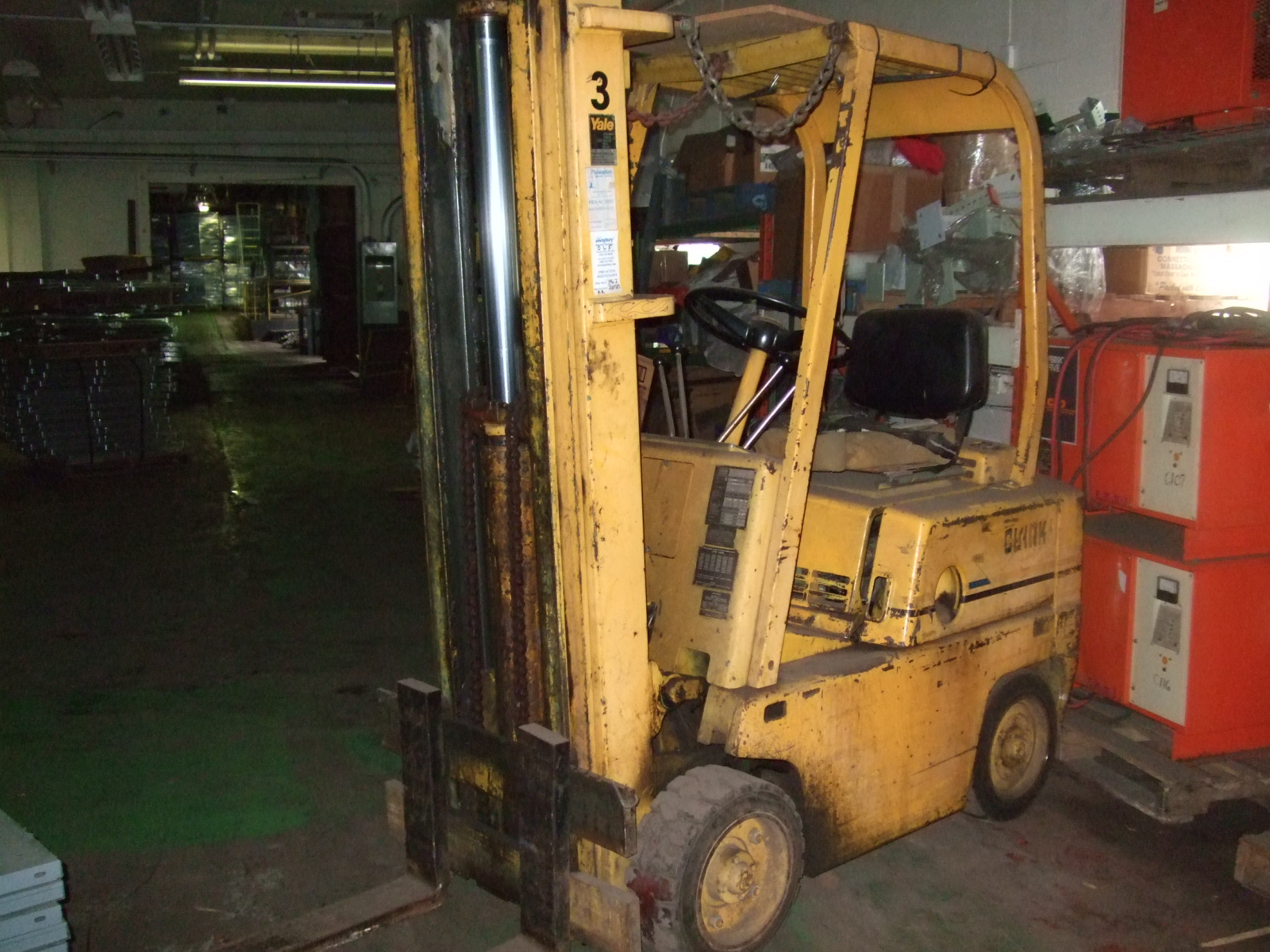 New Used Forklifts Orderpickers Lifts Clark Forklift Wiring Yale Diagram Fork Lift
