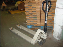 Used Crown Pallet Jacks