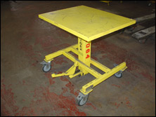 Used Hydraulic Lift Tables