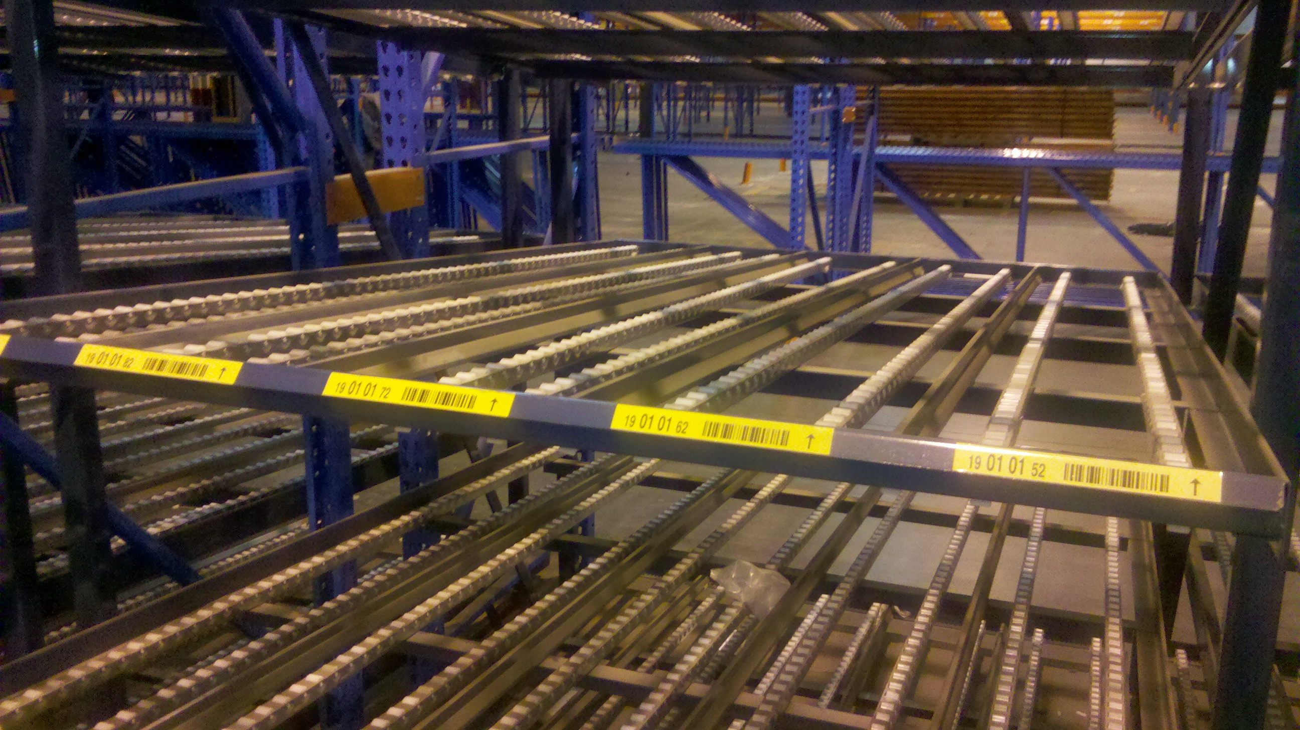 New Amp Used Carton Flow Racking Kingway Flow Rack